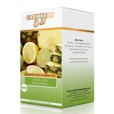 Caribbean Gold Lemon, Lime & Pineapple Tea 40g