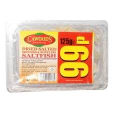 Cawoods Skinless & Boneless Saltfish - 125g