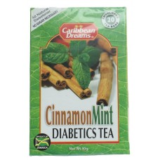 Caribbean Dreams Cinnamon Mint Diabetics Tea