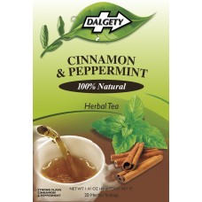 Dalgety Cinnamon & Peppermint Herbal Caribbean Tea