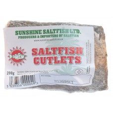 Sunshine Saltfish Cutlets - 200g