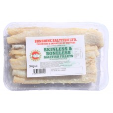 Sunshine Skinless & Boneless Saltfish