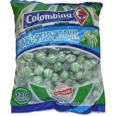 Jumbo Spearmint Candy Balls